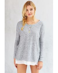 Silence + Noise - Gray Hannah Top - Lyst