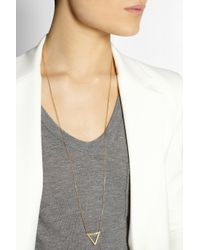 Maria Black - Metallic Vixen Goldplated Necklace - Lyst