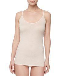 Skin | Black Organic Knit Camisole | Lyst