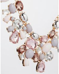 ALDO | Multicolor Gleliwet Spring Stone Collar Necklace | Lyst