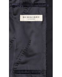 Burberry | Blue Classic Suit for Men | Lyst