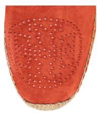 Tory Burch - Orange Kirby Flat Espadrille - Lyst