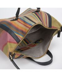 Paul Smith - Multicolor Women'S Swirl Print Calf Leather 'Ziggy' Bag - Lyst
