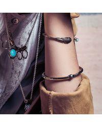 Pamela Love | Black Pluma Cuff | Lyst
