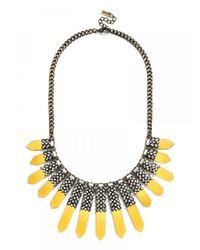 BaubleBar | Yellow Roma Collar | Lyst