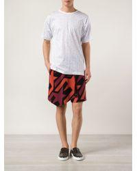 Vivienne Westwood - Multicolor Kilt-style Printed Track Shorts for Men - Lyst