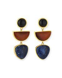 Lizzie Fortunato - Multicolor The Beldi Earrings - Lyst