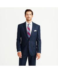 J.Crew | Blue Crosby Suit Jacket In Heathered Italian Wool Flannel for Men | Lyst