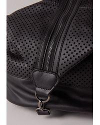 Missguided - Zip Detail Rucksack Black - Lyst