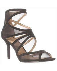 Nine West | Black Gezzica Dress Sandal | Lyst