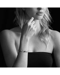 David Yurman | Metallic Cable Classics Bracelet With Lapis Lazuli And 14k Gold | Lyst