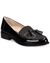 French Connection | Black Lonnie Loafers | Lyst