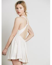 Free People - Pink Rite On Time Mini - Lyst