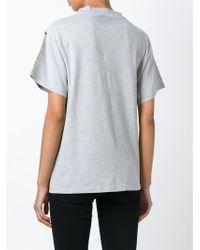 Golden Goose Deluxe Brand - Green Metallic T-shirt - Lyst
