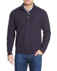Tommy Bahama | Blue 'new Scrimshaw' Pullover for Men | Lyst