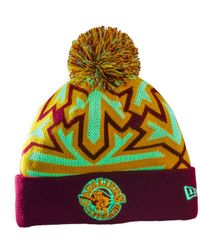 KTZ - Purple Cleveland Cavaliers Glowflake Knit Hat for Men - Lyst