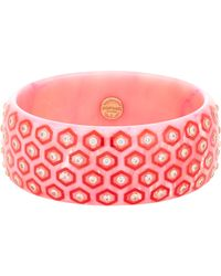 Mark Davis | Pink Arabella Bangle | Lyst