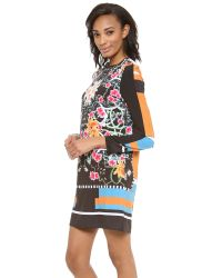 Clover Canyon   Multicolor Cuba Scarf Shift Dress   Lyst