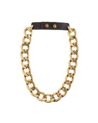 Jenny Bird | Metallic Riri Collar - Gold | Lyst