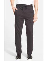 Bench - Black 'dispatch' Straight Leg Sweatpants for Men - Lyst