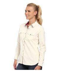 Woolrich | White Pendulum Cord Shirt Ii | Lyst