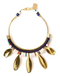 Lizzie Fortunato | Metallic Beldi Collar Necklace | Lyst