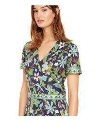 Tory Burch - Multicolor Stretch Silk Dress - Lyst