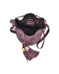 See By Chloé - Purple Viki Small Bucket Bag - Lyst