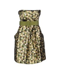 Lavand | Green Short Dress | Lyst