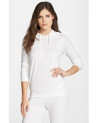 Joe's Jeans | White Cara Thermal Knit Hoodie | Lyst