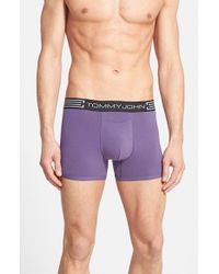 Tommy John - Purple 'cool Cotton' Trunks for Men - Lyst
