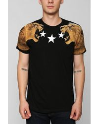 Urban Outfitters | Black Lion Stars Tee for Men | Lyst