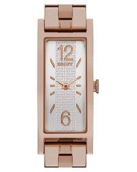 DKNY | Pink 'pelham' Bracelet Watch | Lyst
