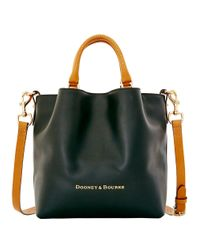 Dooney & Bourke - Black City Small Leather Barlow Tote - Lyst
