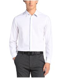BOSS Green | White Regular-fit Casual Shirt: 'c-bal' With A Fine Texture for Men | Lyst