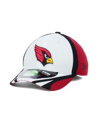 KTZ - Red Arizona Cardinals Training Camp 39thirty Kids Cap Or Toddlers Cap - Lyst
