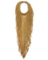 Bex Rox | Metallic Maasai Long Chain Necklace | Lyst
