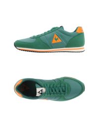 Le Coq Sportif - Green Low-tops & Trainers for Men - Lyst