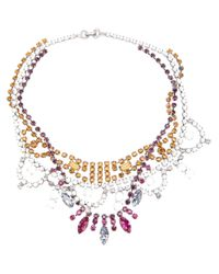 Tom Binns - Multicolor Crystal Tangled Necklace - Lyst