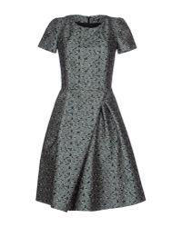 Jil Sander Navy - Blue Short Dress - Lyst