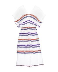 lemlem | Purple Kedame Patio Dress | Lyst