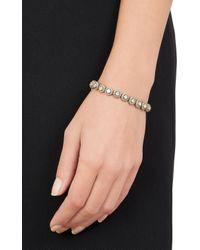 Munnu - Metallic Single Line Bracelet - Lyst