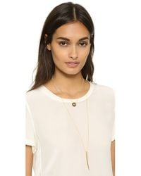 Heather Hawkins | Metallic Gone Girl Necklace - Gold | Lyst
