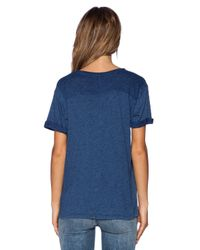 M.i.h Jeans - Blue The Flori Tee - Lyst