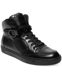 Steve Madden | Black Jarule By Aliance Hi-top for Men | Lyst