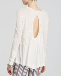 Free People | White New Hope Top | Lyst