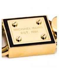 Michael Kors | Metallic Tortoise Curb Bracelet | Lyst