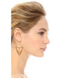 Chan Luu - Metallic Bead Earrings - Sunflower - Lyst