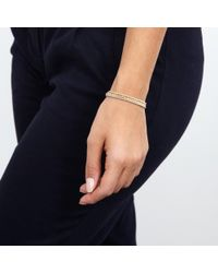 Carolina Bucci - Pink Rose Gold Disco Ball Bracelet - Lyst