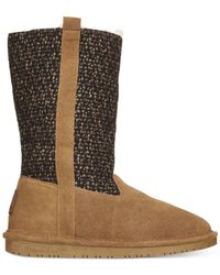BEARPAW - Brown Adriana Tall Cold Weather Boots - Lyst